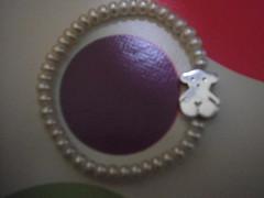 pulsera de perlas de la marca Tous