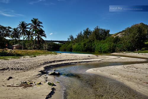 Jibacoa river by Rey Cuba