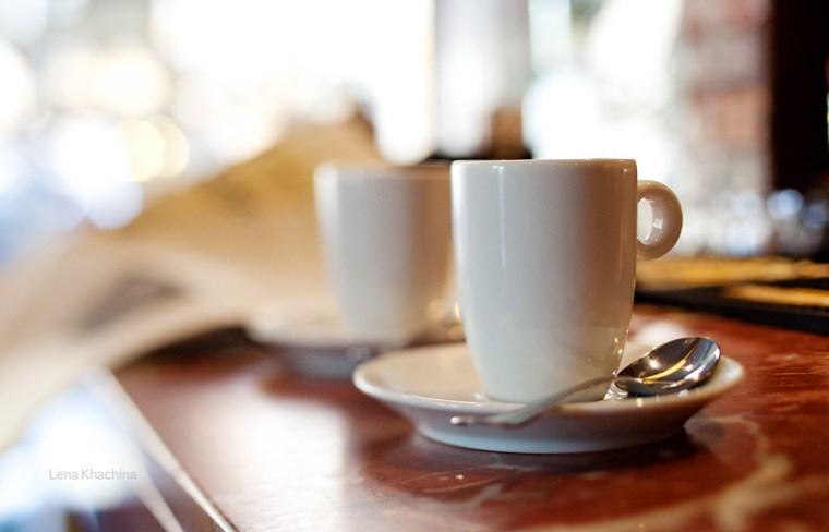 Due espresso, per favore!