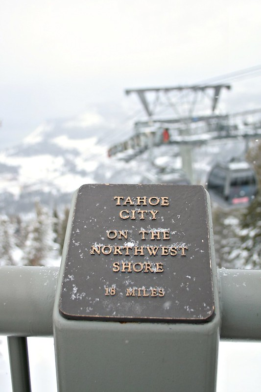 Lake Tahoe City, Tahoe, gondola in Tahoe, snow in Tahoe