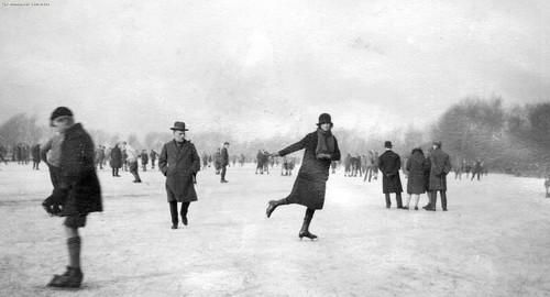 Ice Skating, Manchester