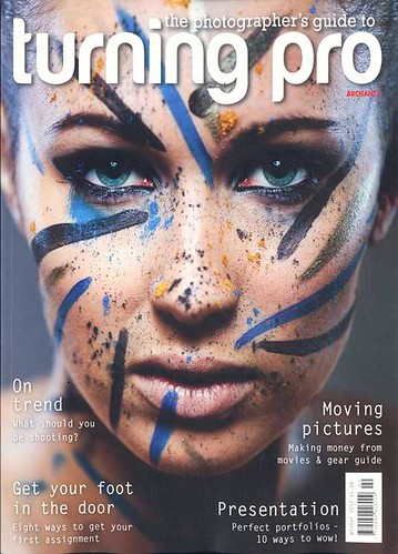 Turning Pro - Cover. Winter 2012 by bang*