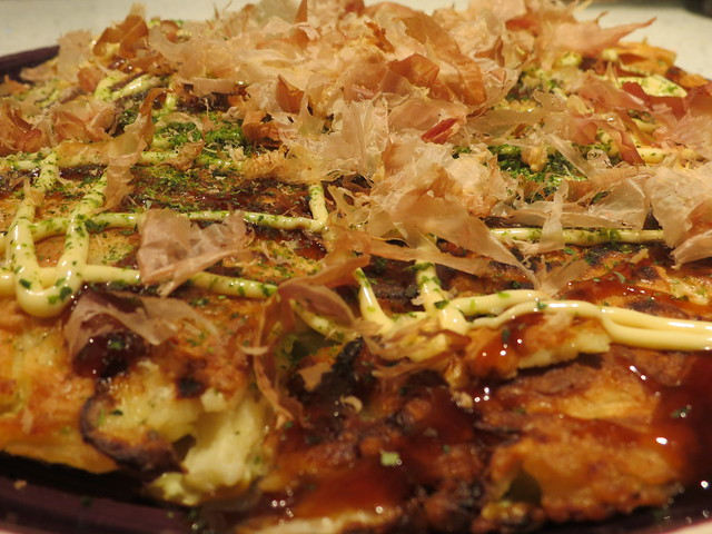 Cooking: Ebi Okonomiyaki