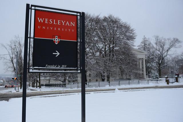Winter at Wesleyan 2013