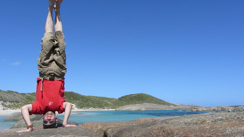 8. williamson bay headstand