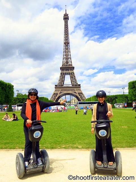 Paris Segway Tour- Eiffel Tower