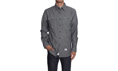 5_HUF_Spring_2013_Marshall_Chambray_Long_Sleeve_Shirt_Black
