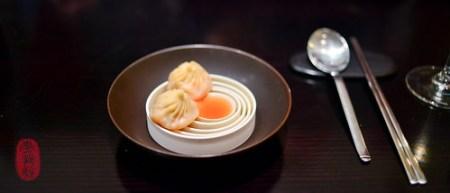 7th Course: Lobster Coral Xiao Long Bao