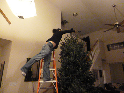 12-10-12 TX - Austin, Decorating the Tree 2