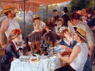 Renoir Le dejuner des canotiers