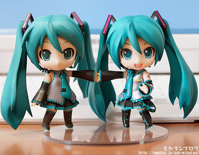 Compared with the original Nendoroid Hatsune Miku