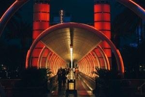 Bally's Entrance Way - Las Vegas Nevada, 2012