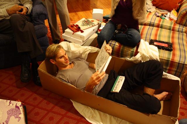 Box makes a nice bed