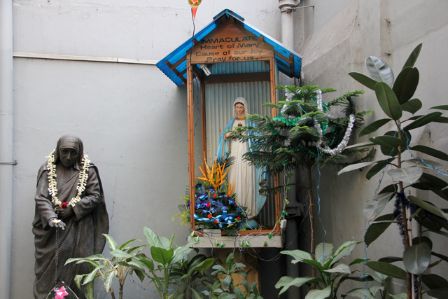 Entrance of Mother Teresa House