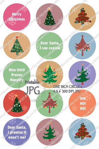 USD 1.49, Collage template, bottlecap template, Christmas lot, circle, bottlecap magnet, Christmas template, photo collage, Christmas wrap, bottlecap