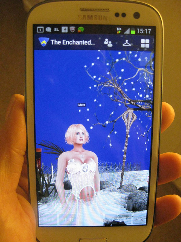 Second Life on a phone or tablet | The Eternal Sunshine of