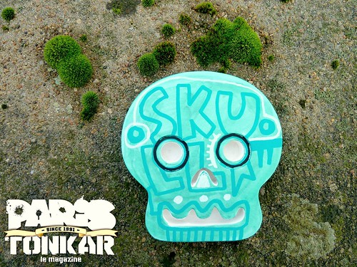 Skull // Rennes, 2012 by Pegasus & Co