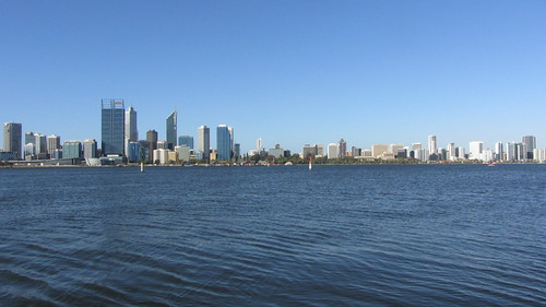 perth from the water