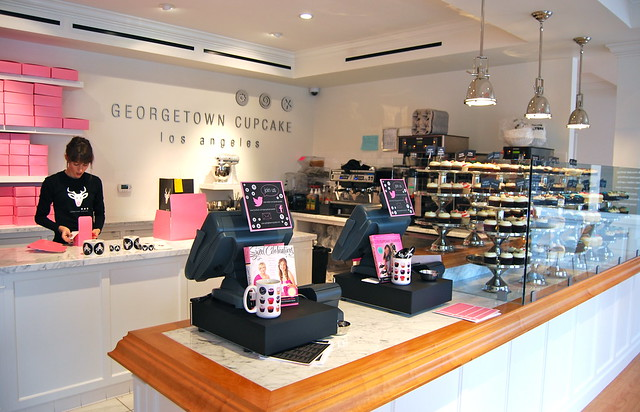 Places To Eat In Los Angeles: Georgetown Cupcake