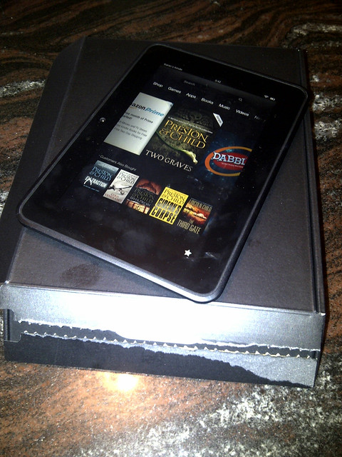 New Kindle Fire!