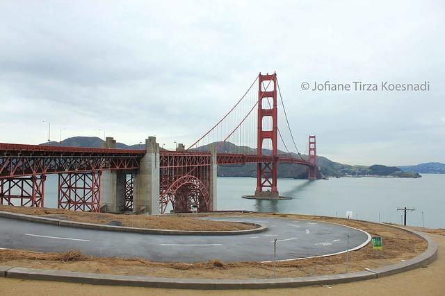 SF - golden gate bridge - south vista point - 1