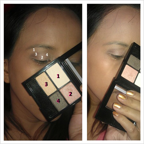 Basic Eye Shadow Application