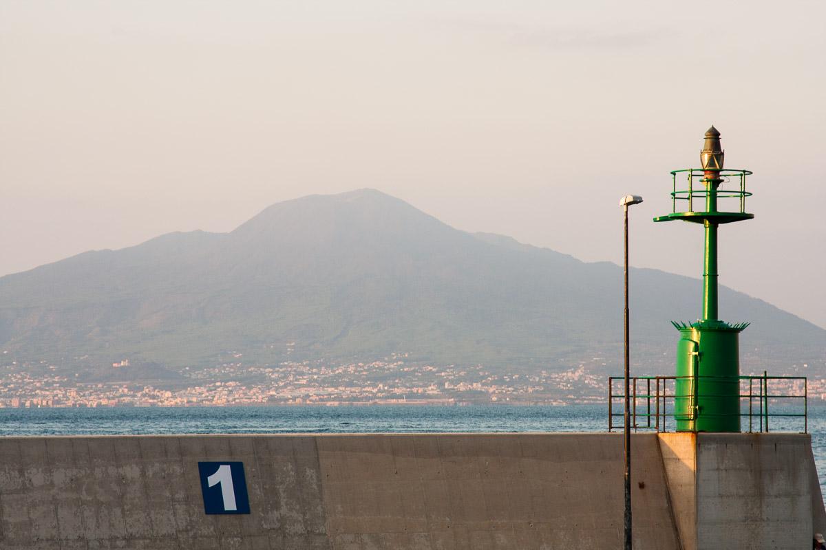 El Vesubio desde Sorrento