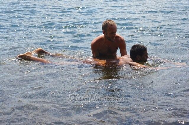 swimming lesson 0045 Harriman park, NY, USA