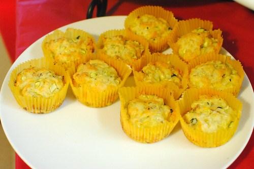 bacon zucchini muffins