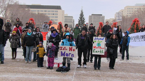 Peaceful Demonstration in Support of Chief Spence