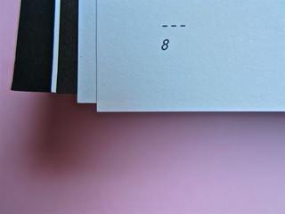 Simone Bisantino, Il ragazzo a quattro zampe. Caratteri Mobili 2012. Pr. grafico e impaginazione: Michele Colonna; ill. di Giuseppe Incampo. Pagina 8 (part.), 1