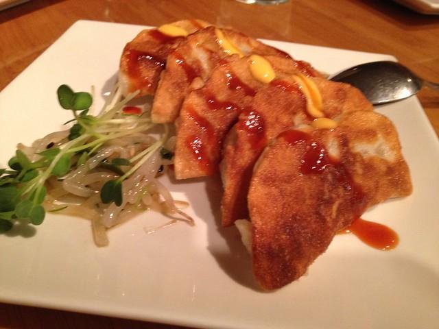 Waikoloa's crisp pork potstickers - Roy's