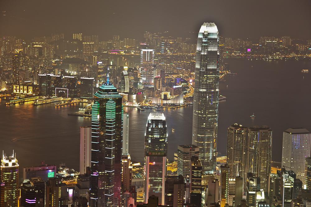 Hong Kong Under Lights