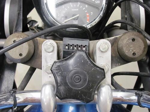 .Steering head gunge