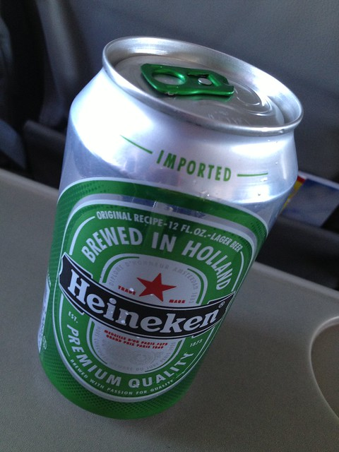 Heineken beer - Go! Airlines