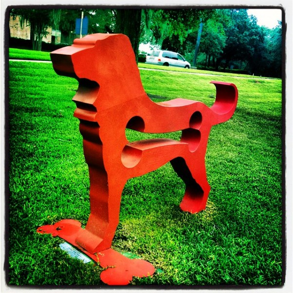 "The ""Red Dog"" at Menello Museum of American Art"