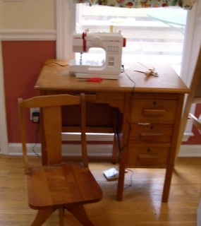 Bloomer's Sewing Machine