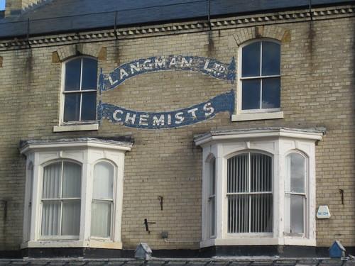 Saltburn - Langman Chemist Ghostsign