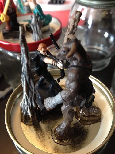 Hawkeye vs. A Minotaur