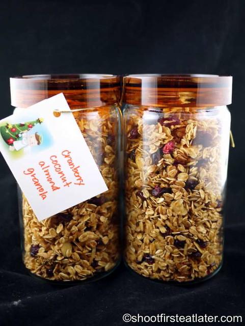 cranberry coconut almond granola-008