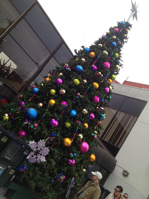 Christmas tree in the Castro