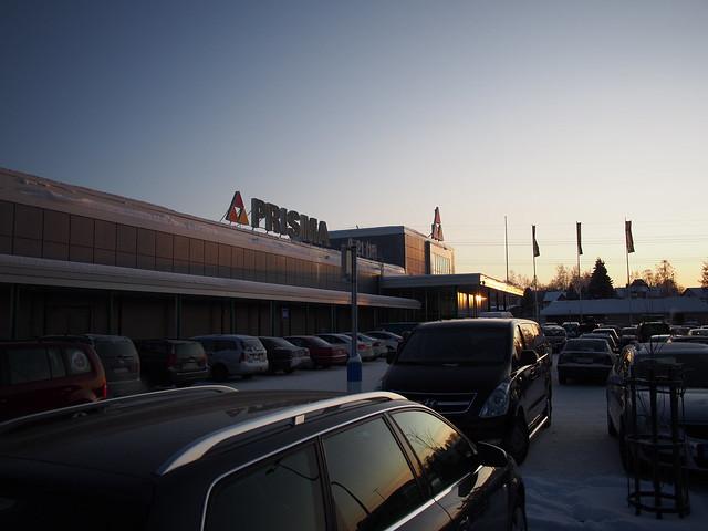 Prisma parking lot