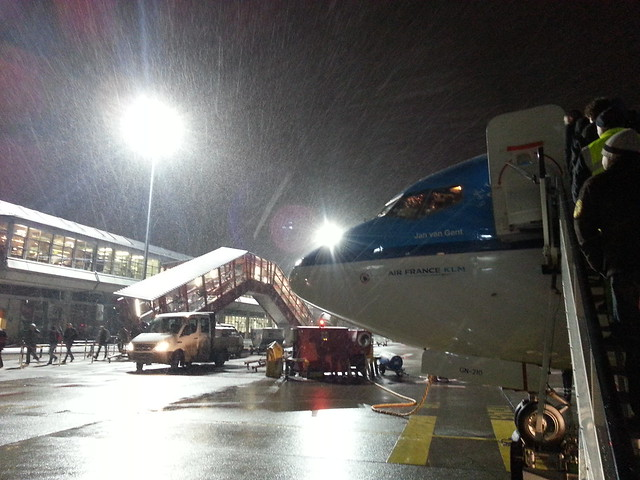 snowy departure
