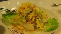 Seafood and Mango salad