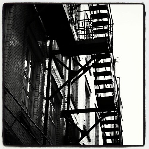 Fire Escape Manchester 01 by Angela Seager
