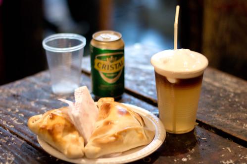 Bebida chilena Terremoto