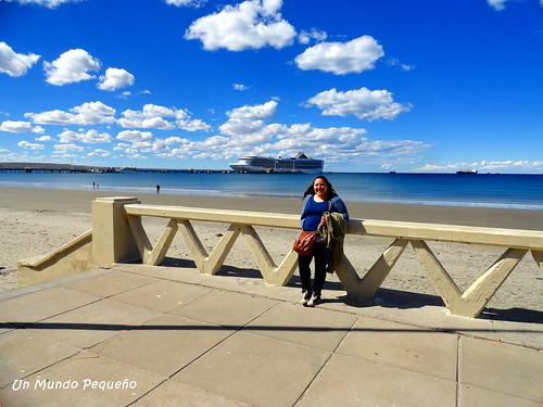 Yo en Puerto Madryn, Chubut, Argentina