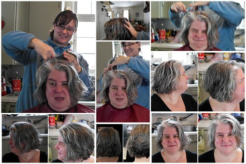 Fixing the Old Lady Hair Cut