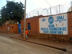 Proximité maison Dr Denis Mukwege et bureau UN OCHA à Muhumba