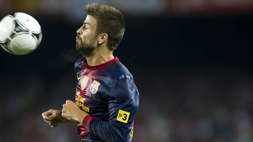 Gerard Pique: Talentoso Defensa Central Español